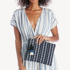 Sole Society Tassel Pouch Clutch